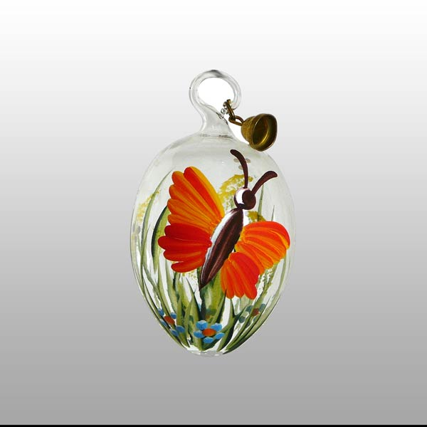 Glasosterei Tierliebe 5 cm-Orange