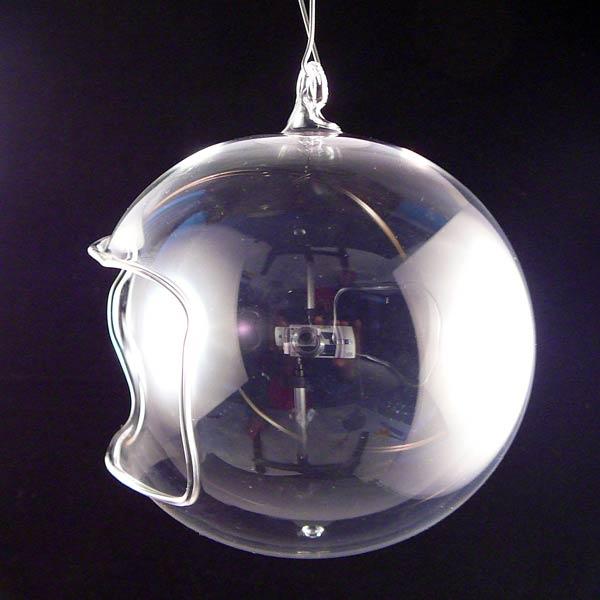 Unbemalte Teelichtkugel-9cm