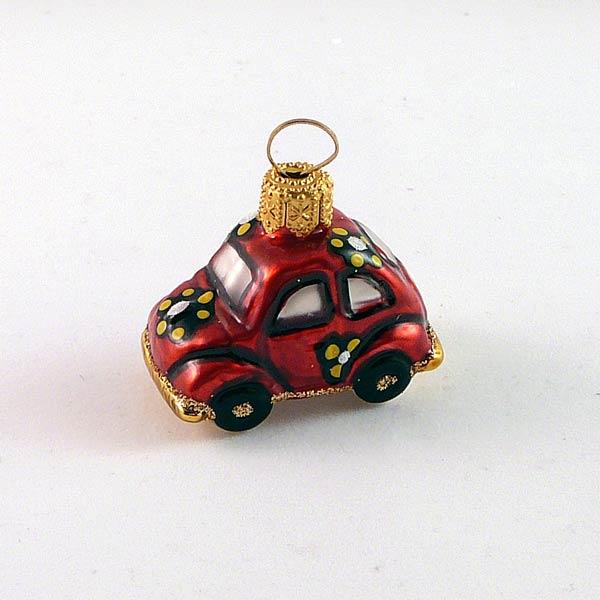Mini Car - kleines rote Autofigur