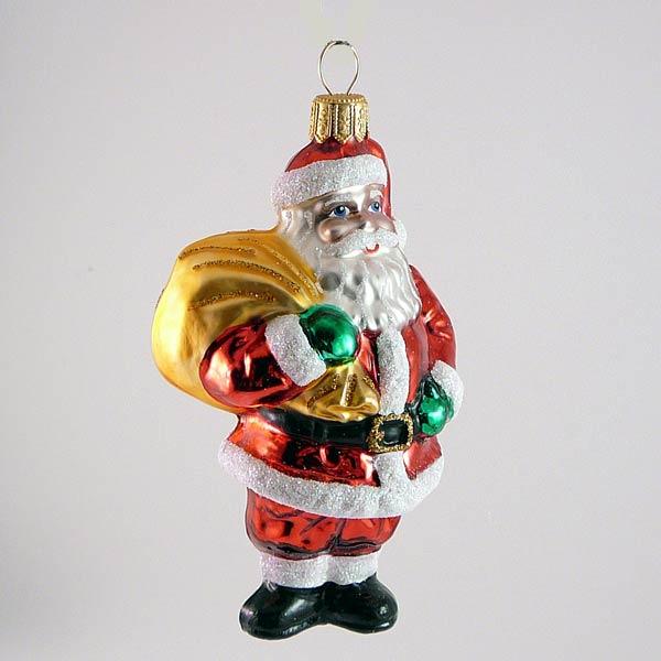 Weihnachtsmann mit großen Sack