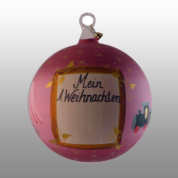 Mein erstes Weihnachten - personalisierte weihnachtskugel