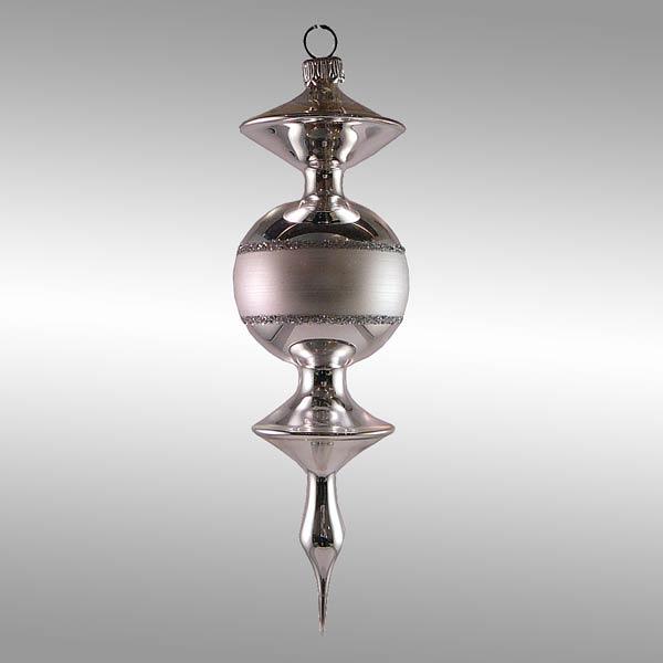 Glas-Spindel für Weihnachtsbaum - freigeformt