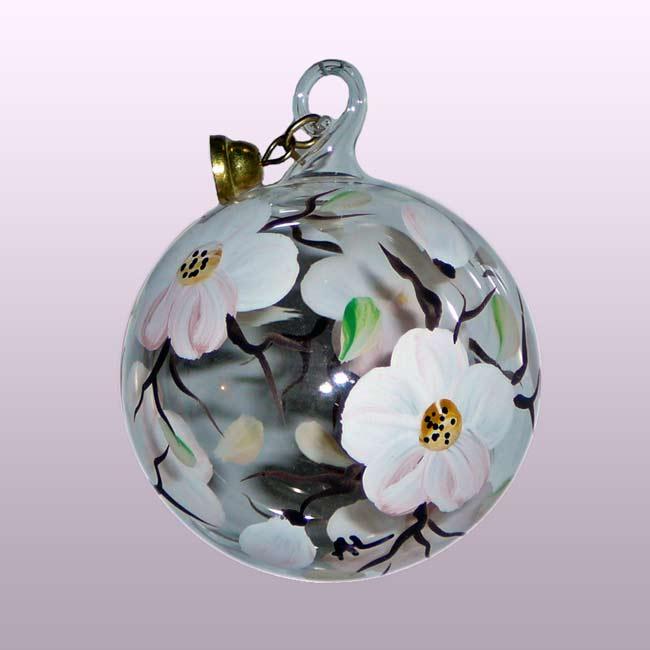 Glaskugel Apfelblüte-5cm