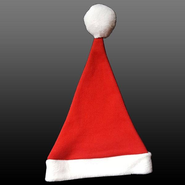Weihnachts Babymütze-Rot-3-8 Monate