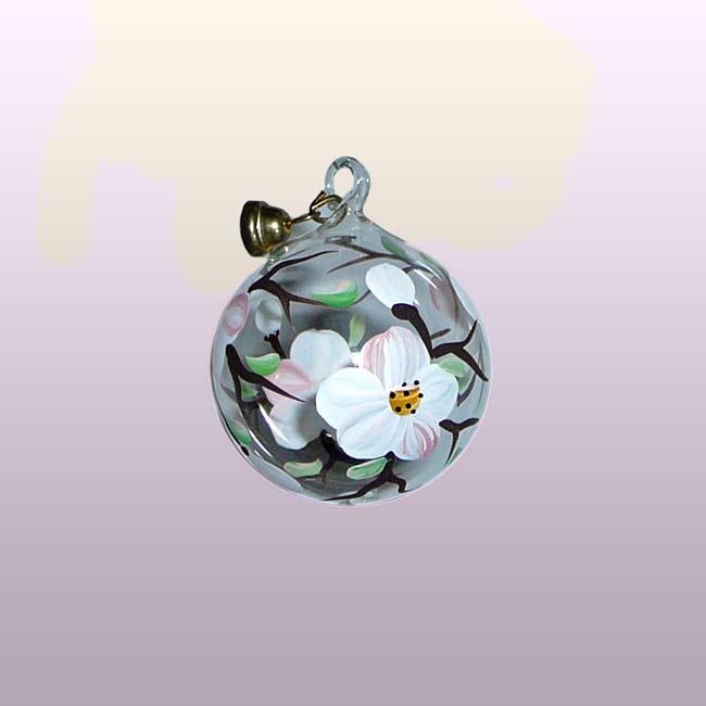 Glaskugel Apfelblüte-3cm