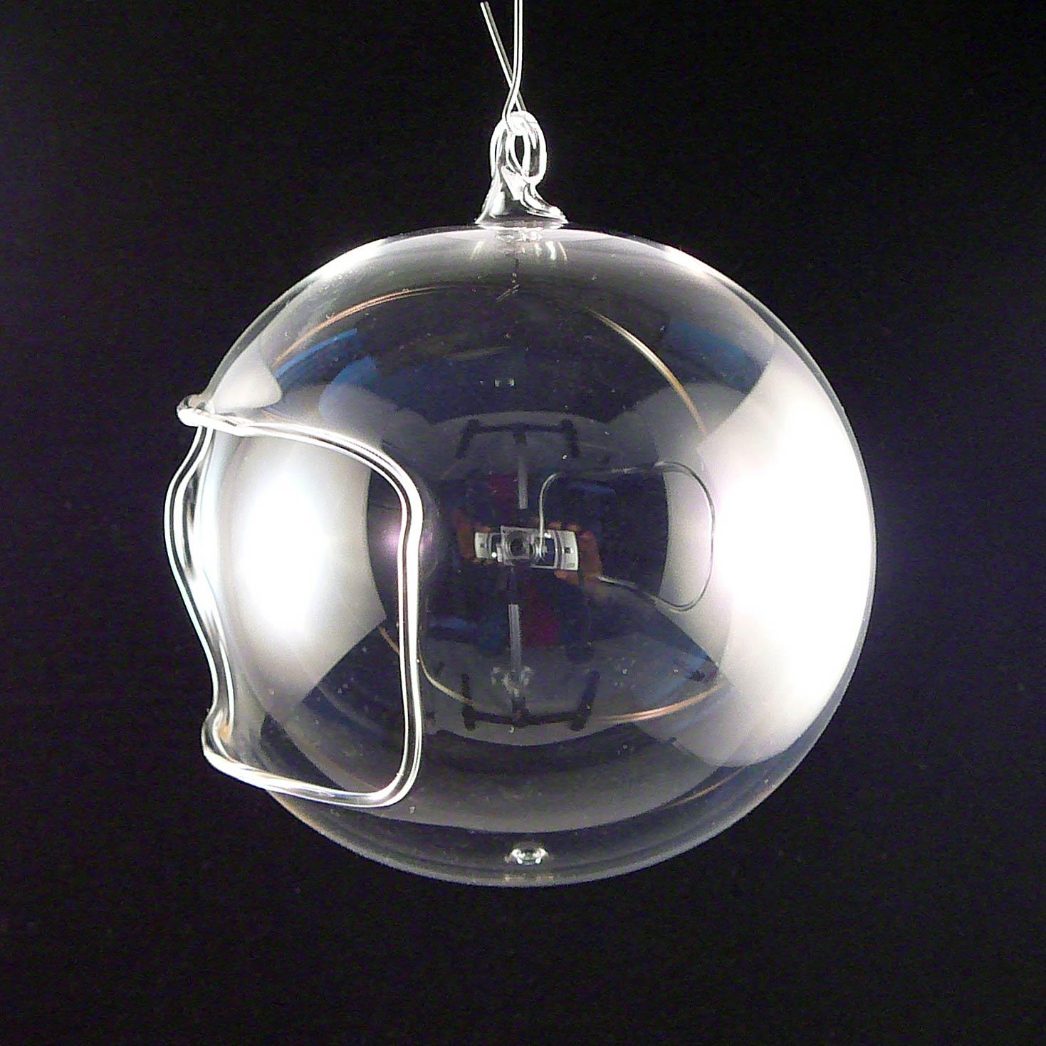 Unbemalte Teelichtkugel-11cm