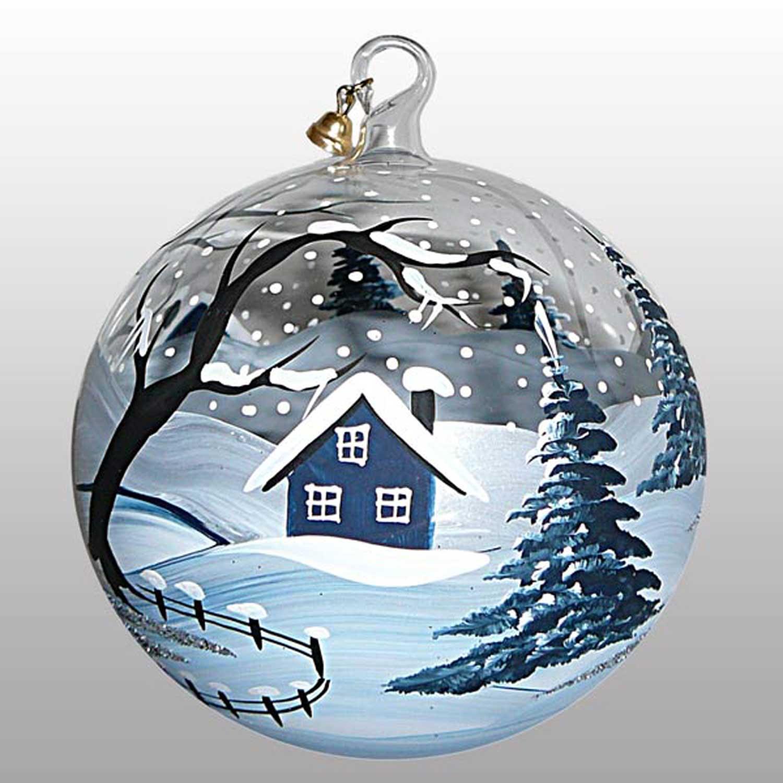 Weihnachtskugel Eiszeit-15cm