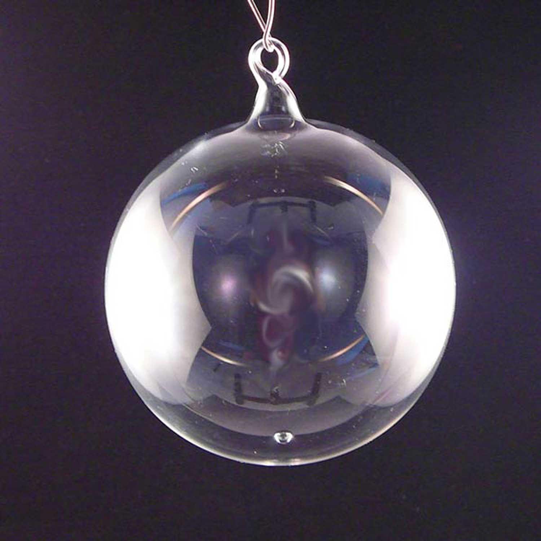 Unbemalte Glaskugel 11cm