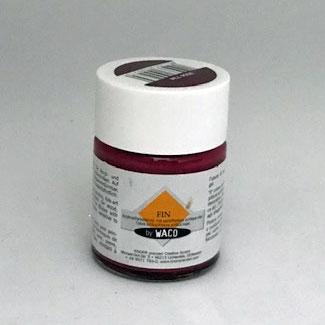 WACO Fin 50ml Farbe in verschiedenen Farben-Weinrot