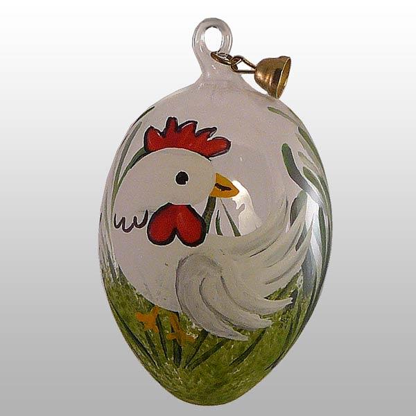 Ostereier Hühner, Hase, + Co-Weiß