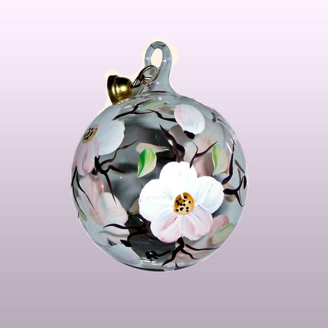 Glaskugel Apfelblüte-4cm