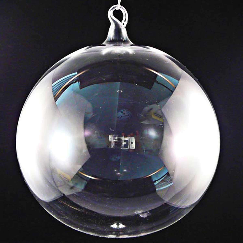 Transparente Glaskugel 15cm